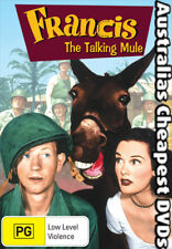 Francis The Talking Mule  DVD NEW, FREE POSTAGE WITHIN AUSTRALIA REGION 4
