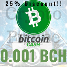 Mining Contract 1 Hour Bitcoin-Cash (0.001 BCH) Processing (TH/s)