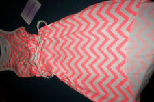 Nwt! Lavender by Us Angels Girls Size 4/5 Coral Belted Sleeveless Dress Nwt