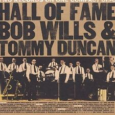 Sealed Rare Country CD: Bob Wills & Tommy Duncan - Hall Of Fame -EMI/SP Records