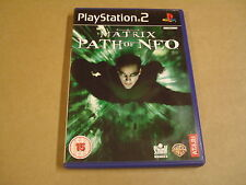 PLAYSTATION 2 GAME / THE MATRIX: PATH OF NEO