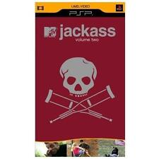 New: JACKASS Vol. 2 (Johnny Knoxville, MTV) UMD Disc for PSP [B30]