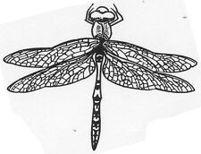 Unmounted Rubber Stamps, Dragonfly Stamps, Dragonflies, Nature Stamps, Insects