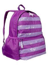 GAP Kids PURPLE FLOWER School Backpack Weekend Travel Book Bag NEW