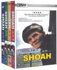 SHOAH (1985) 1-4 Full DVDs Boxed Set - Claude Lanzman (New & Sealed)