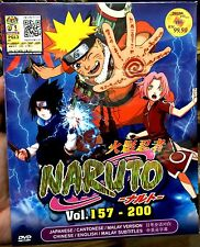 Naruto (TV Episodes 157 - 200) ~ Box 4 ~ 7-DVD Box Set ~ English Sub ~