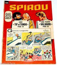Le journal SPIROU n° 1399 de 1965 magazine sans mini récit Valhardi Tif et Tondu