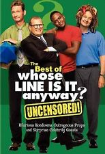 The Best of Whose Line Is It Anyway UNCENSORED ~ NEW DVD SET