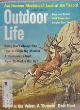 AUG 1970 OUTDOOR LIFE vintage hunting & fishing magazine