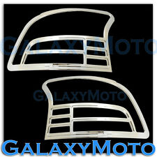 07-11 Toyota Yaris 4DR Mdoel only Triple Chrome Taillight Tail Light Lamp Cover