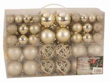 Decorazioni Natale oro in plastica per feste e party