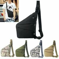 Mens Tactical Invisible Anti-theft Gun Holster Pouch Chest Sling Crossbody Bag