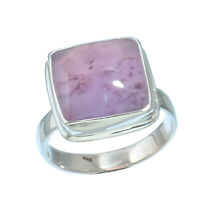DENDRITE OPAL NATURAL GEMSTONE 925 SOLID STERLING SILVER JEWELRY RING 8.25