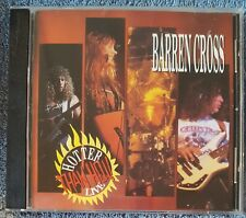BARREN CROSS Hotter Than Hell 1990 CD OOP Live BUY 2, GET 1 FREE