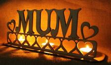 Tea light holder MUM a perfect Mother's day gift or Birthday present Heart