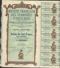 DECO => VERRERIES D'INDOCHINE (HAIPHONG TONKIN) (V)