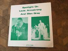LOUIS ARMSTRONG - Spotlight with Glen Grey ~ JOYCE 4006 [Recorded: 1943] ->RARE