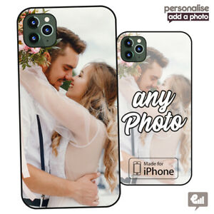 Personalised PHOTO Phone Hard Case Cover For iPhone 11 12 7 Pro Max Custom Gift