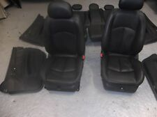 Mercedes W211 E320cdi,E280,270, Estate Leather Seats Complete With Cards BLACK