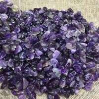 100g Natural Mini Amethyst Point Quartz Crystal Stone Rock Chips Lucky Healing