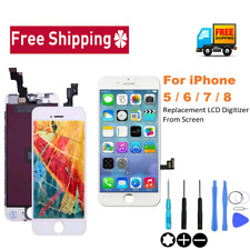 LCD Screen Digitizer Touch Assembly Replacement For iPhone 5s 6 6s 7 8 Plus LOT