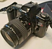 Canon EOS Rebel XS 35mm Film Camera w/ Canon Zoom Lens 35-80mm 1:4-5.6 - VG