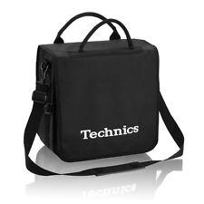 Technics Dj Record Bag Ruck Sack 50 vinyl LP Capacity White Logo SL 1200 SL 1210