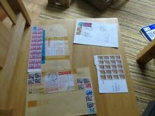 5 Different Covers with postage due stamps applied - used