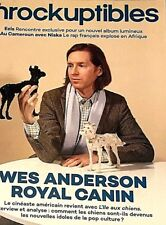 LES INROCKUPTIBLES**4/04/2018***WES ANDERSON=ROYAL CANIN*MOMENT CHIEN*