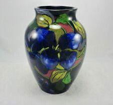 "Antique Royal Stanley Ware Art Pottery Jacobean 7"" Vase England"