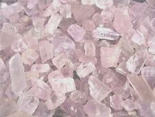 Kunzite mine rough crystal natural Afghanistan lite pink 1 ounce lots 8-16 piece
