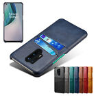 For OnePlus Nord N100 N10 8T 8 7T Pro 6 Leather Card Slot Wallet Slim Case Cover