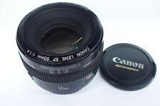 Canon EF 1,4/50 mm USM lente para Canon EOS usado