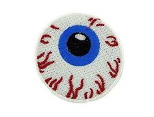 Patch ecusson brode thermocollant oeil zombie sang
