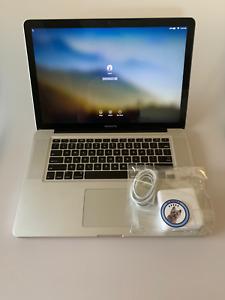 """15"""" Apple MacBook Pro 8,2 - Intel i7-2635QM 2.0GHz 8GB RAM 500GB HD MC721LL/A"""