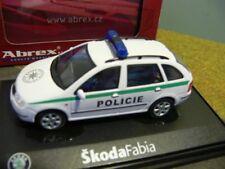 1/43 Abrex Skoda Fabia Policie Tschechien 014357