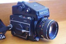 VINTAGE MAMIYA 645 CAMERA WITH MAMIYA-SEKOR  1-2,8  F=80mm  LENS  No148817