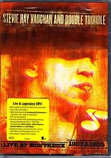 STEVIE RAY VAUGHAN AND DOUBLE TROUBLE LIVE AT MONTREUX 1982 & 1985 DVD NEW!