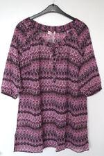 Sheego Damenblusen, - tops & -shirts aus Polyester in Übergröße
