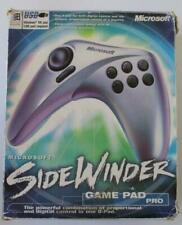 Microsoft SideWinder Game Pad Pro - In Box With Software and Booklet + Strategic