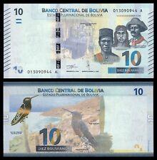 Bolivia - 10 Bolivianos  ND  Pick 248 (New) SC = UNC