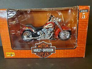 Series 5 Maisto 1998 FLST HERITAGE SOFTTAIL EVOLUTION, Harley Davidson #31360
