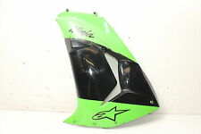 06-07 KAWASAKI NINJA ZX10R ZX1000D LEFT LOWER SIDE MID FAIRING COWL SHROUD