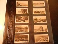 1928 Westminster SOUTH AFRICA photos 1st series set 36 cards Tobacco Cigarette