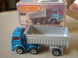 MatchboxLesney Leyland Articulated Truck  MB30-D vintage box