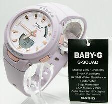 ✅ Casio Damen Baby-G BABY-G BSA-B100-4A2ER Bluetooth®-Technologie Smartwatch ✅