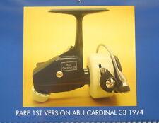 Vintage Abu Cardinal 33 44 66 wall calendar for the collector 2018