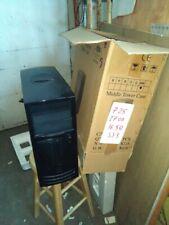 ATX AT Computer Case Enclosure Build Vintage 386 486 Pentium BLACK CASE CK-01