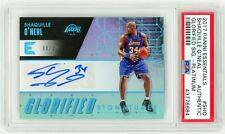 SHAQUILLE O'NEAL 2017 Panini Essentials Glorified Signed PLATINUM /10 AUTO PSA