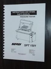 Serdi Model SPT 1501 Pressure Tester Manual